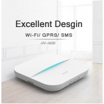 Tủ báo động dùng SIM, APP điện thoại AL-W20WIFI-GSM hỗ trợ cảm biến báo trộm không dây