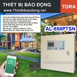 Thiết bị chống trộm TORA AL-858PTSN dùng line điện thoại