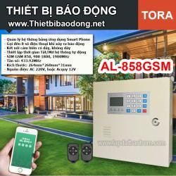 Thiết bị chống trộm TORA AL-858GSM dùng SIM điện thoại
