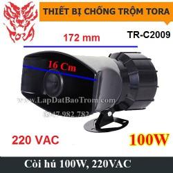 Còi hú báo động công suất lớn 220V TR-C2009 100W