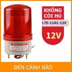 Đèn chớp cảnh báo LTE-1101 Không Còi Hú điện 12V (Led nháy)