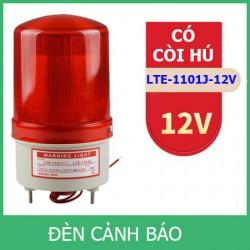 Đèn chớp cảnh báo CÓ CÒI HÚ LTE-1101J điện 12V (Led nháy)
