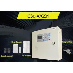 Tủ báo động GSK-A7GSM, APP điện thoại IOS,Android (báo trộm)