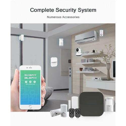 Tủ báo động dùng SIM, APP điện thoại AL-W20WIFI-GSM hỗ trợ cảm biến báo trộm không dây, đại lý, phân phối,mua bán, lắp đặt giá rẻ