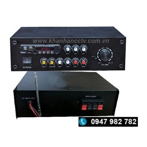 Ampli tăng âm công suất 250W BX-2277, đại lý, phân phối,mua bán, lắp đặt giá rẻ