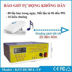 Bộ chuông báo giờ tự động bằng nhạc điệu không dây văn phòng KST-BG28M