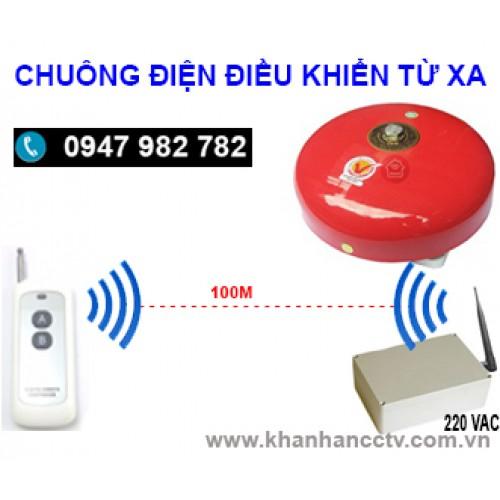 Chuông điện điều khiển từ xa bằng remote C15-4RM, độ vang < 400m2, đại lý, phân phối,mua bán, lắp đặt giá rẻ