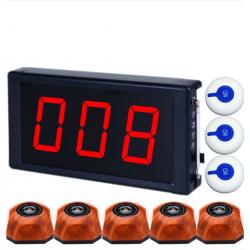 Bộ chuông gọi phục vụ KA-S5000 + 5 nút gọi